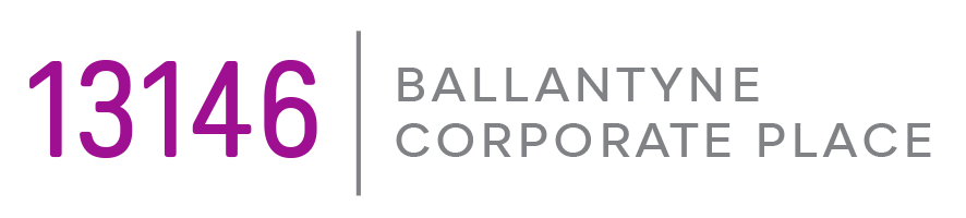 13146 Ballantyne Corporate Place Retina Logo